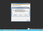 Error 1904 durante la instalación de Crystal Reports – crtslv.dll failed to register HRESULT -2147010895