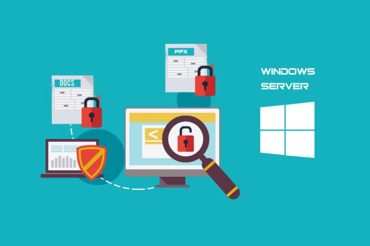 No lee certificado PFX en IIS de Windows Server 2012R2
