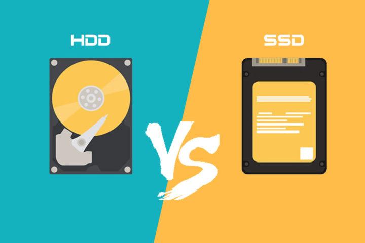 Las Unidades de Estado Solido (SSD) son mejores que un Disco Duro (HDD)
